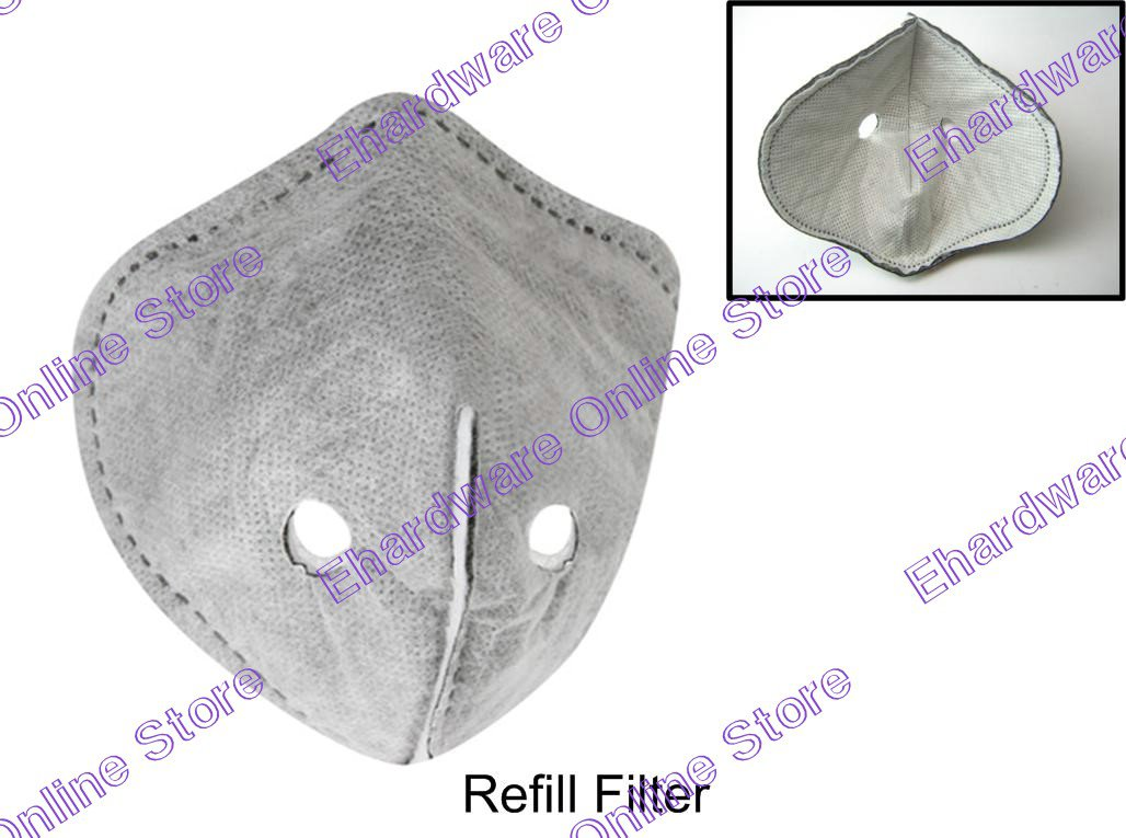 Anti-Smog Activated Charcoal Cloth Refill Filter Only (99UM216A)