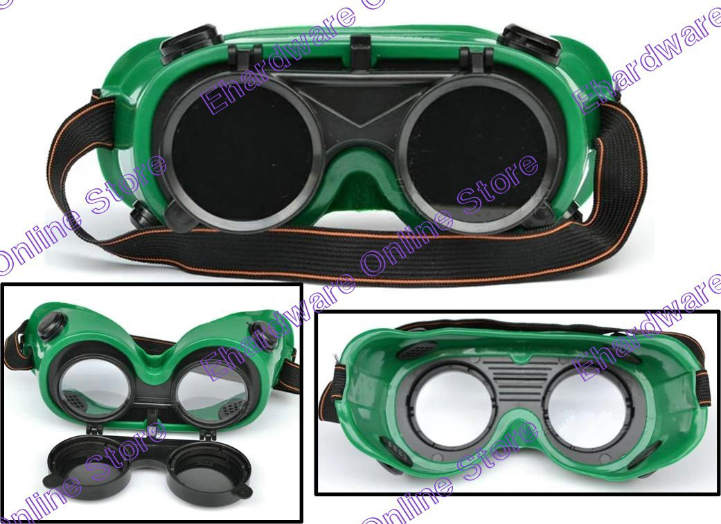 Welding Safety Goggle With Flip-Up Lenses (W2865)