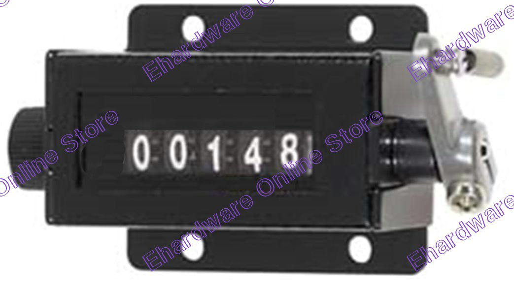 5-Digit Mechanical Counter With Base (64CM202)