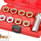 9PCS AXLE SPINDLE RETHREADING KIT (3917ES)