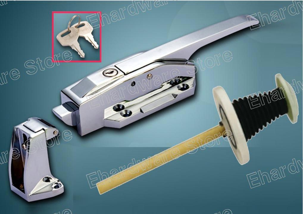"Walk-In Cool Room Door Latch With Adjustable Strike 10"" (PM1178)"