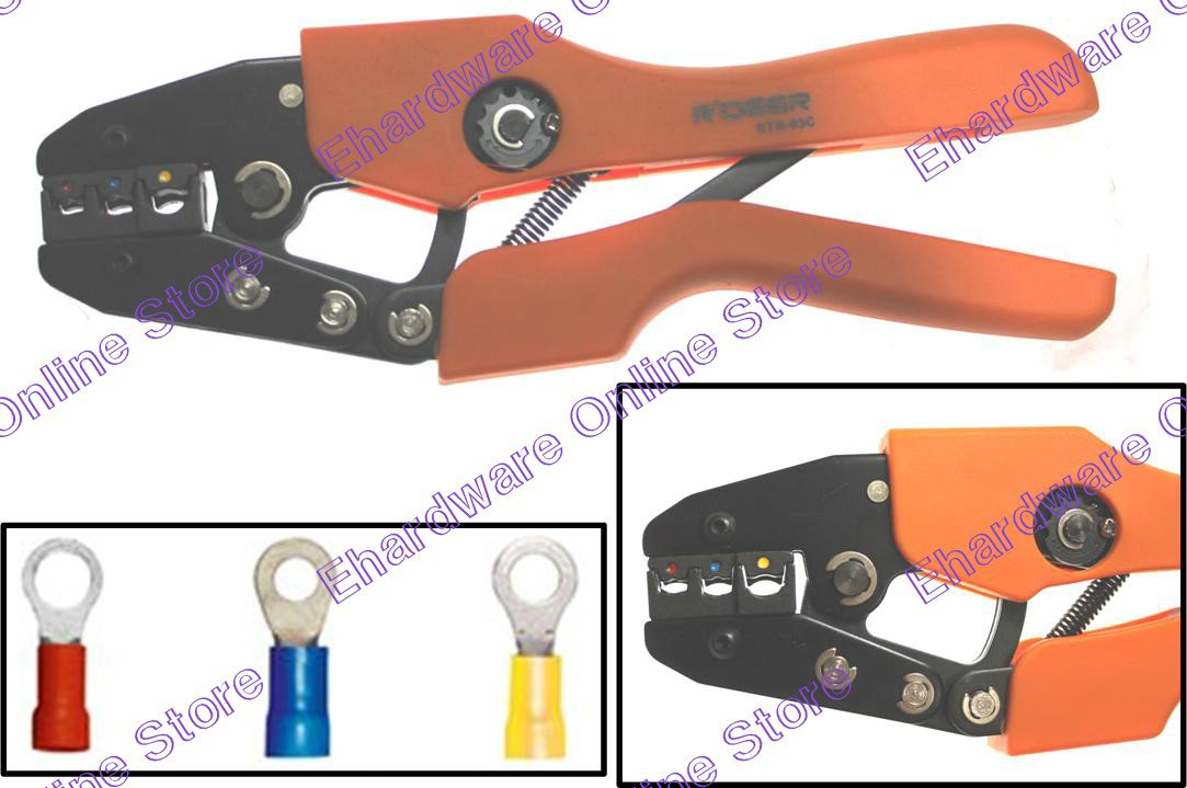 ratchet crimping tool for automotive vinyl insulated connector rtn 03c. Black Bedroom Furniture Sets. Home Design Ideas