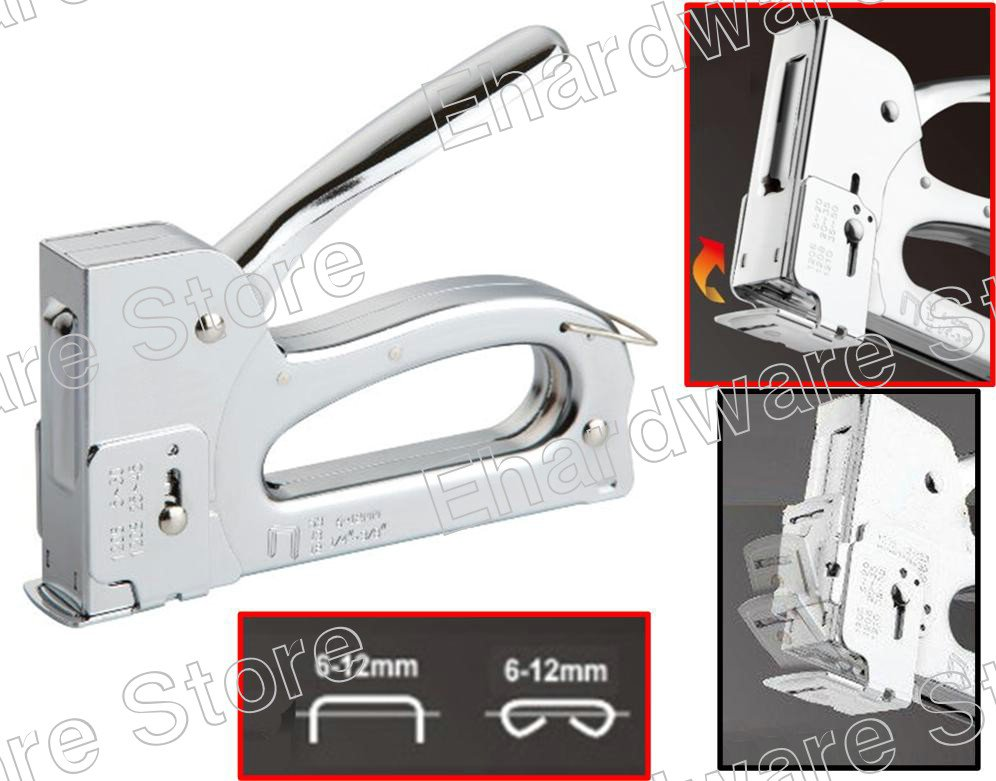 2-In-1 Heavy Duty Staple Gun And Stapler 6-12mm (54404102)