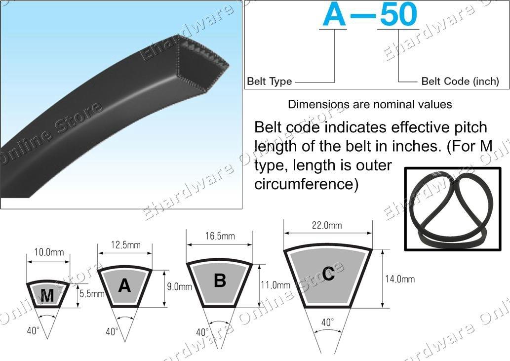 MITSUBOSHI Conventional V-belt A102