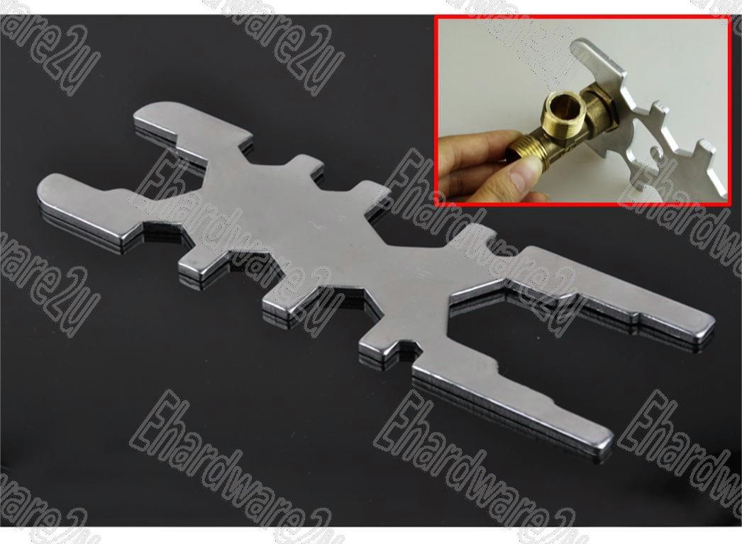 19-In-1 DIY Plumber Multi-Purpose Wrench 8-44mm (PMW19)