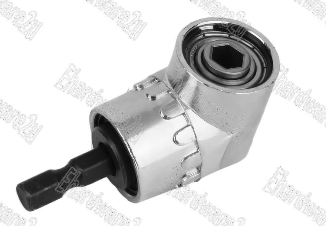 """Right Angle Power Drill Attachment 1/4""""Hex Quick Change (ADA55H)"""