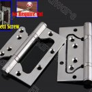 2Pcs Stainless Steel Flush Hinge 4Inch (No Require Cut) (SSFH100)