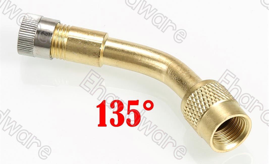 135 Degree Bent Tire Valve Extension Adapter (TVE135D)