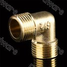 "Brass Male Equal Elbow Connector 1/2""BSP (DMML4-4)"