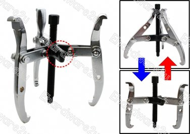 "DUAL FUNCTION 2 OR 3 JAW COMBINATION GEAR PULLER 10"" (TD0707-10)"