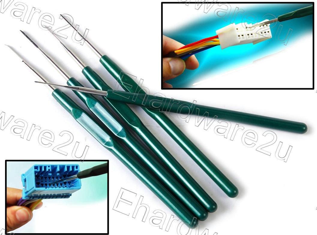 5Pcs Titanium Tip Wire Terminal Socket Pins Removal Tool Set (TRT5)
