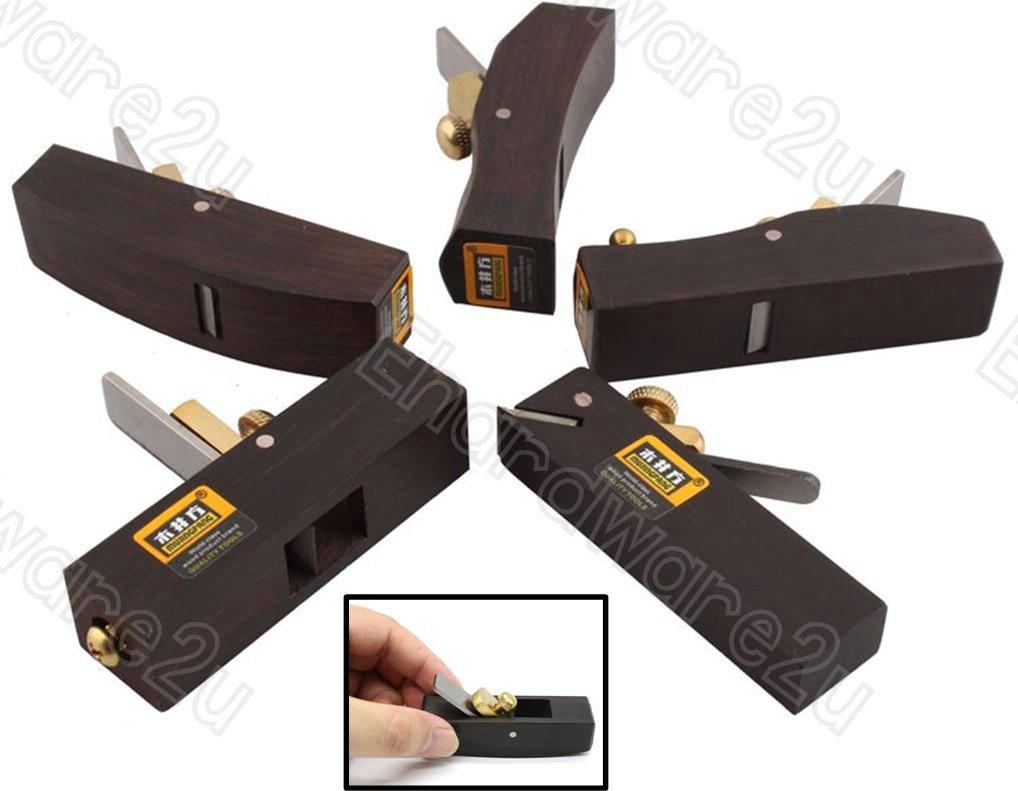 5Pccs Woodworking Quality Mujingfang Ebony Miniature Planes (63SP055-5)