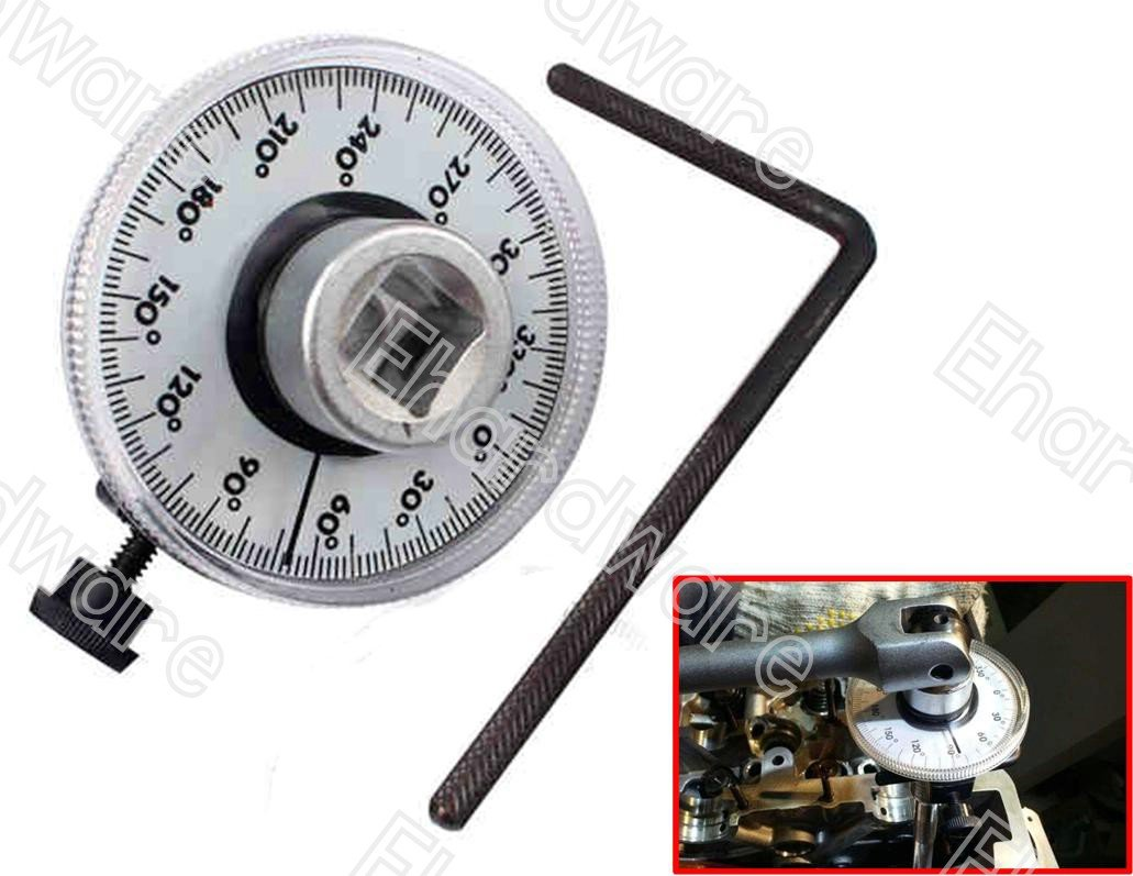 "1/2""DR ANGULAR TORQUE ANGLE GAUGE 360 DEGREE (1814)"
