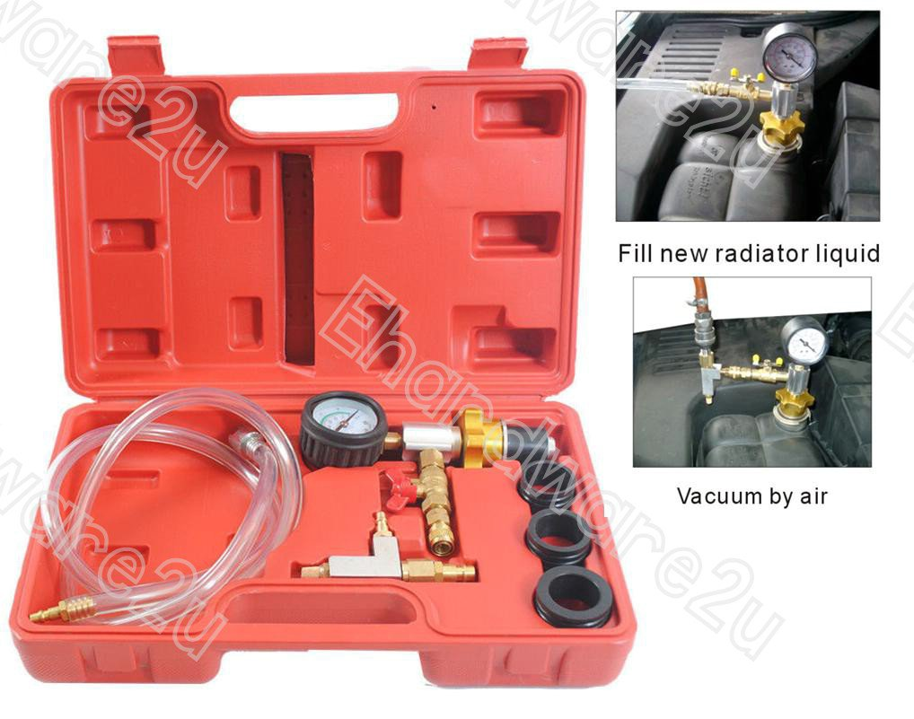 6Pcs Radiator Cooling System Vacuum Purge and Refill Kit (1536)