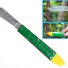 STAINLESS STEEL GRAFTING KNIFE TOOL WITH BARK LIFTER (80GC003)