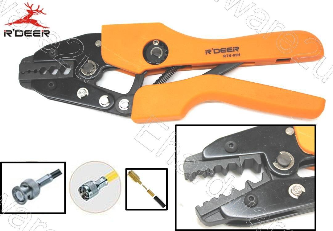 Bnc Coaxial Connector Hex Ratchet Crimping Tool Rtn 05h