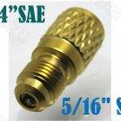 "1/4"" Female SAE x 5/16"" Male SAE R22 to R410a Adapter (CB-05MX04F-V)"