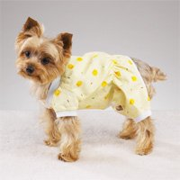 Dog Pajamas PJs Duckies! Yellow (XXSM)