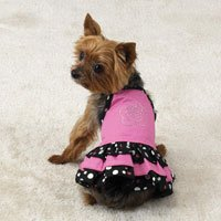 Parisian Dog Dress Sundress Pet Clothing Clothes Xxsm