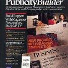 Publicity Builder by Daniel Janal book marketing press releases PR