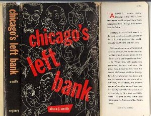 Chicago's Left Bank by Alson J. Smith 1953 book history arts HB DJ