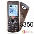 S350 Dual Sim FM MP3/4 TF Camera Mobile Phone Cellphone