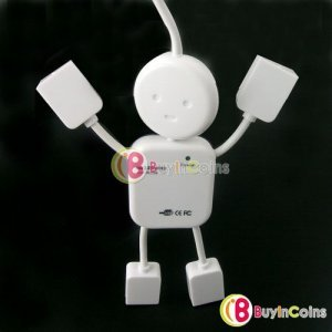 High Speed 4 Port USB HUB Adapterfor Laptop PC 12
