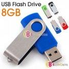USB 2.0 Flash Memory Stick Jump Drive Fold Pen 8GB 8 GB