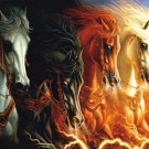 Four Horses of the Apocalypse 1500 Piece Jigsaw Puzzle