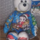 Betty Boop Collectible Bear Night Before Christmas NEW