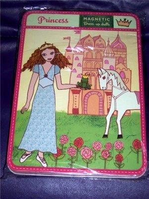 Magnetic Princess Dress Up Doll