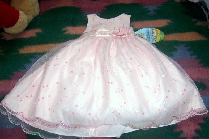 Cinderella Girls 2T  Pink Pageant Dress