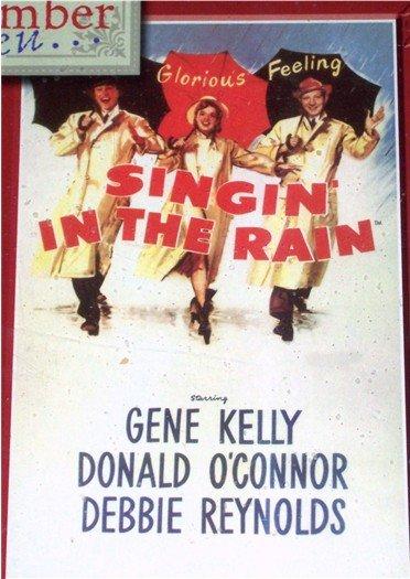 Singin in the Rain 1000 Piece Puzzle Retro Movie Poster NEW
