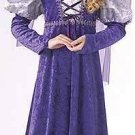 Renaissance Queen Medieval Child Costume SZ 8-10 NEW