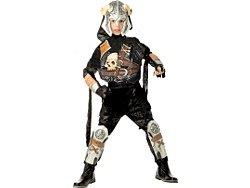 Crossbones Warrior Child Halloween Costume 8-10 Pirate