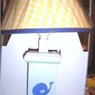 Lambs & Ivy Whale's Tale Nursery Lamp Seahorse NEW