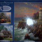 Thomas Kinkade 3 Full Size Jigsaw Puzzles NEW