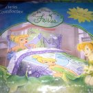 Disney Fairies Tinker Bell Twin Comforter NEW FAIRY
