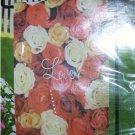Valentines Day Flag Love Roses NEW 12 x 18 Garden Flag