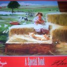 A Special Bond Girl & Cat Jigsaw Puzzle Kittens NEW