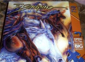 Jody Bergsma Wild Spirits Horse Jigsaw Puzzle NEW