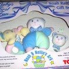 Noah  & Nellie's Ark  Baby Rattle Gift Set