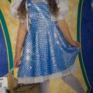 Wizard of OZ Dorothy Sequin Costume Child Size Large