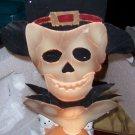 Fiber Optic Skeleton Pumpkin Base Ghosts Halloween