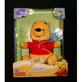 Disney Pooh's Pocket Pals Pooh Bee Butterfly Phrases & Songs