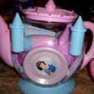 Disney Princess Castle Teapot Teaset NEW Cinderella Snow White Sleeping Beauty Belle