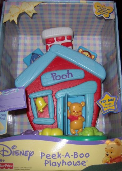 Winnie The Pooh Peek A Boo Play House For Baby