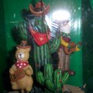 Sterling Western Motion Ornament Cowboy Cactus Squirrel