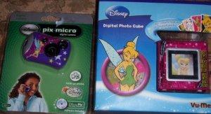 Tinker Bell Micro Digital Camera + Digital Photo Cube