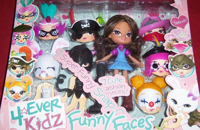 Bratz 4 Ever Kidz Funny Faces Yasmin